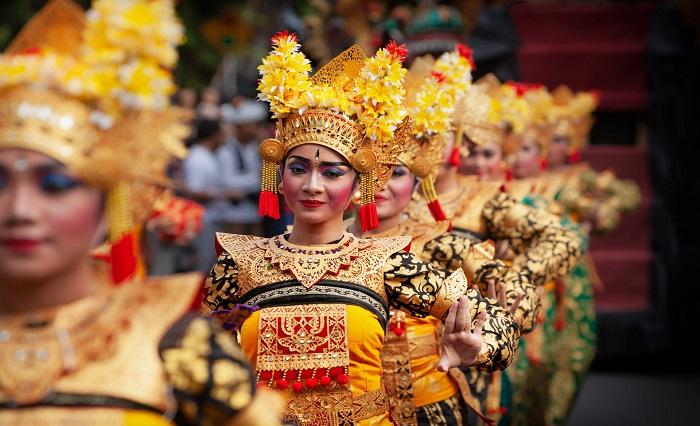 Traditional Balinese dance Legong